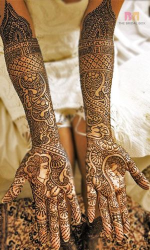 Latest mehndi designs by Asha Savla