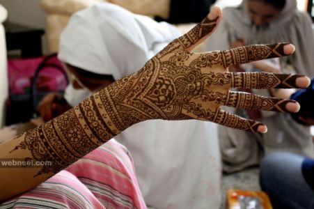 Pakistani Mehndi Designs Arm and Hand