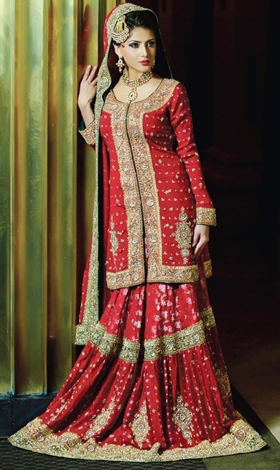 Pakistani,Bridal,Dresses,Bridal,Lehenga,Designs,001