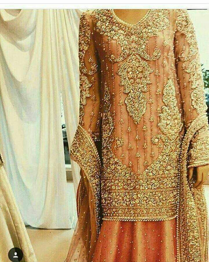 Pakistani Hand Embroidery Design And Stitch Services For Bridal Dress