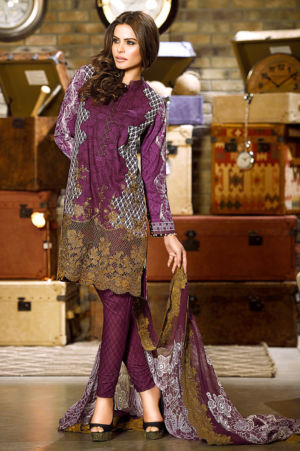 Dark Purple Chantilly de Lace