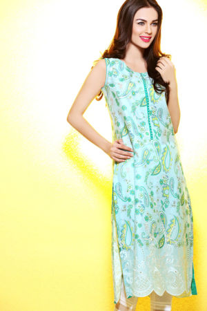 Ferozi Embroidered Lawn SL-141 A