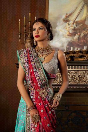 Latest Bridal Dresses 2013 l Bridal Dresses By Kamiar Rokni l Beautiful Bridal Dresses Lahore Girls l Collection Of Bridal Dresses 2013 - 2014 (5)