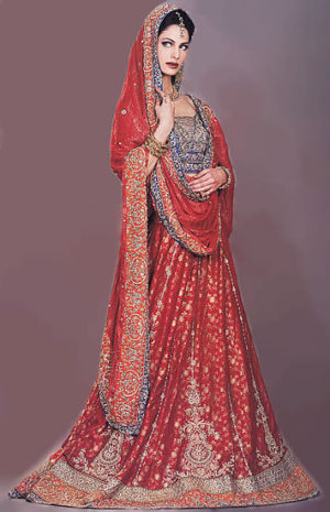 traditional-red-lehnga