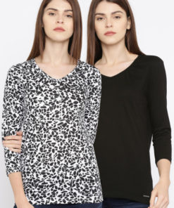Roadster Women Pack of 2 T-shirts