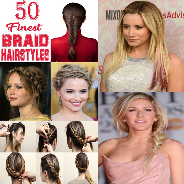 50 Finest and Easy Braided Hairstyles to Suit Your Style - Mastorat.com